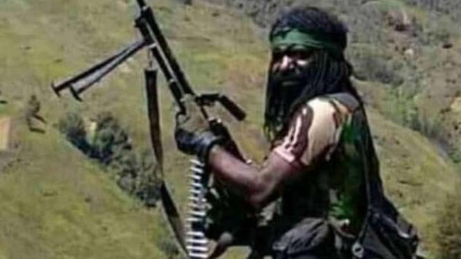VIVA Militer: Anggota teroris Organisasi Papua Merdeka (OPM), Oniara Wonda