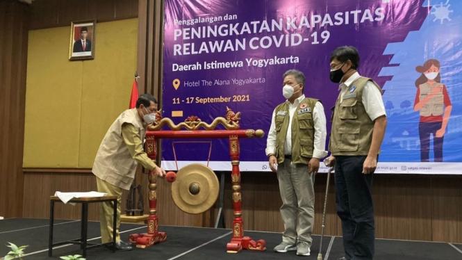 Satgas Relawan Covid-19.
