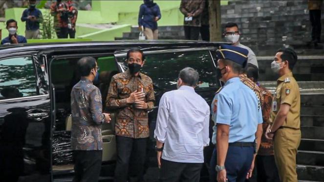 Presiden Jokowi di Solo, ada Gibran Rakabuming
