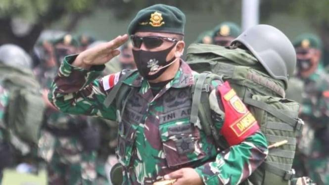 VIVA Militer:  Danyonif Mekanis Raider 413/Bremoro, Letkol Inf Anggun Wuriyanto