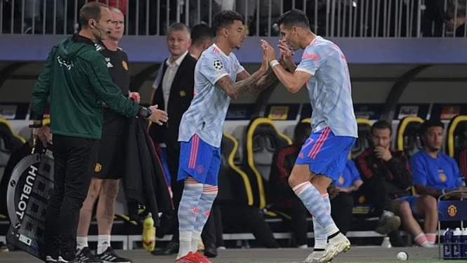 Jesse Lingard gantikan Cristiano Ronaldo