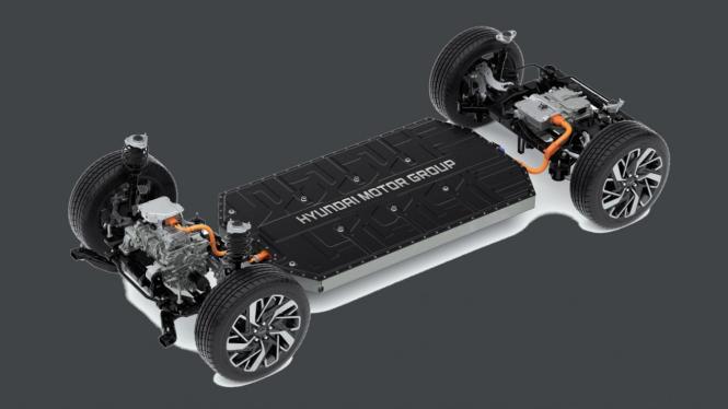 Platform mobil listrik E-GMP buatan Hyundai