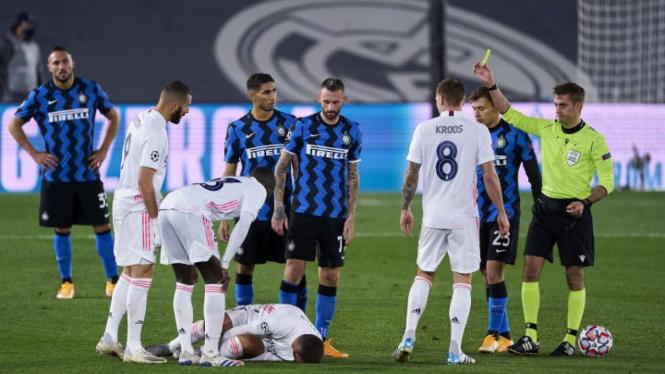 Laga Inter Milan vs Real Madrid di Liga Champions 2020-2021