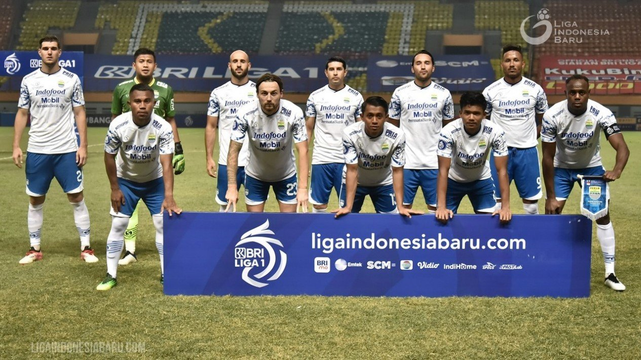 Skuad Persib Bandung di Liga 1 2021-2022