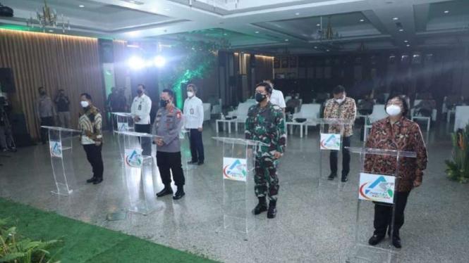 VIVA Militer:Panglima TNI hadiri peluncuran aplikasi ASAP Digital di Mabes Polri