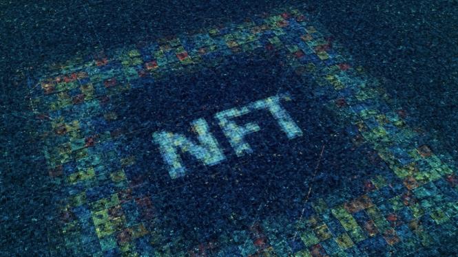Ilustrasi NFT.