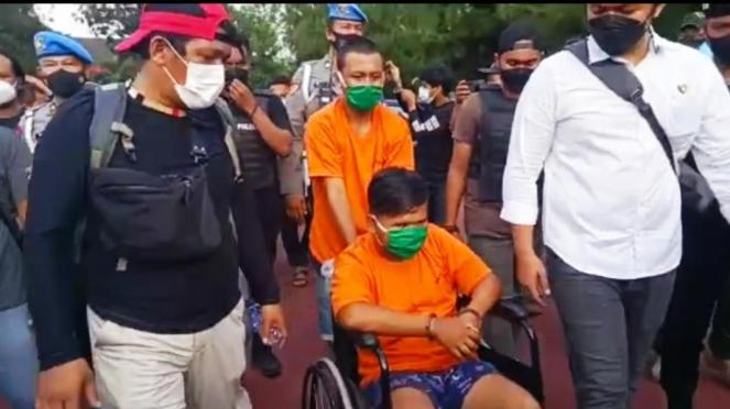 Pelaku perampokan toko emas di Medan, Sumut