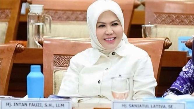 Intan Fauzi, Anggota DPR RI Fraksi PAN