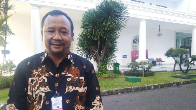 Ketua Papmiso DPK 2 Bekasi, Maryanto di Istana Negara