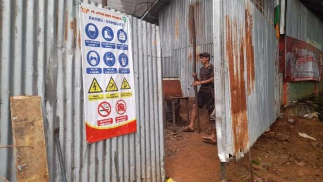 Proyek labkesda di Tangerang jadi sasaran pencurian