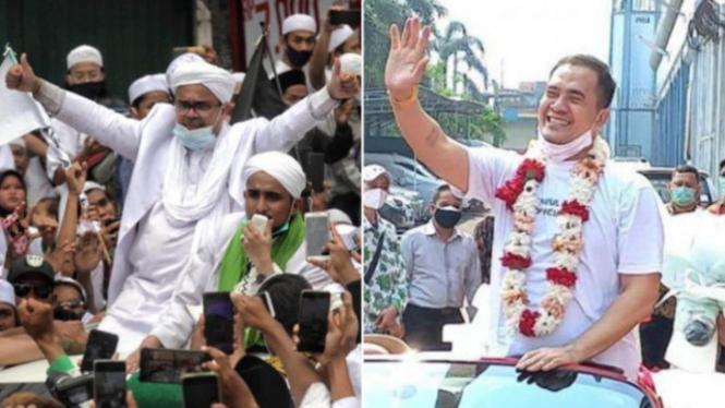 Beredar Postingan Hina Nabi dan Habib Rizieq Shihab (Twitter/SimukM)