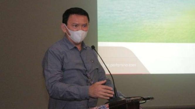 Komut Pertamina Basuki Tjahaja Purnama atau Ahok.