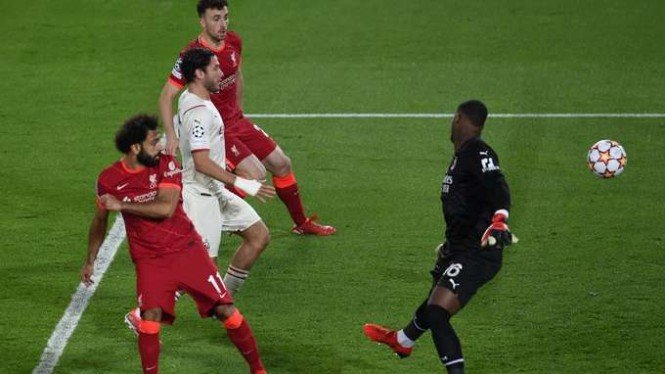 Duel Liverpool vs AC Milan