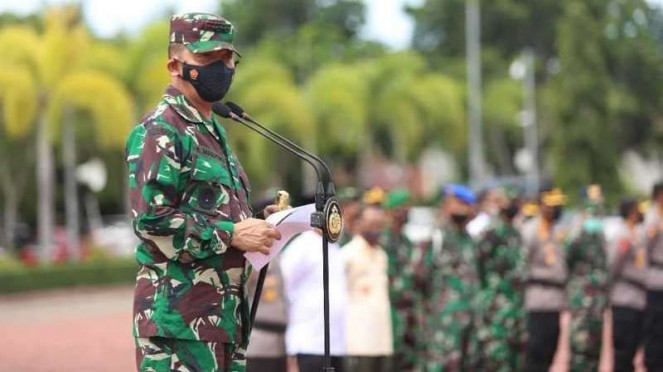VIVA Militer: Pangdam Iskandar Muda, Mayjen TNI Achmad Marzuki