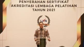 Kepala LAN Dr. Adi Suryanto.