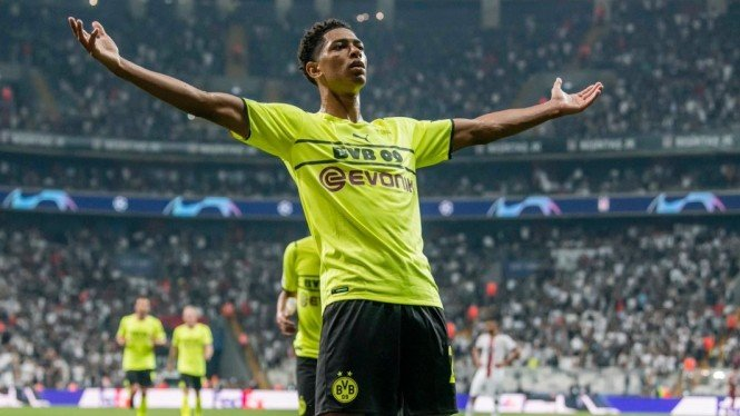 Gelandang Borussia Dortmund, Jude Bellingham