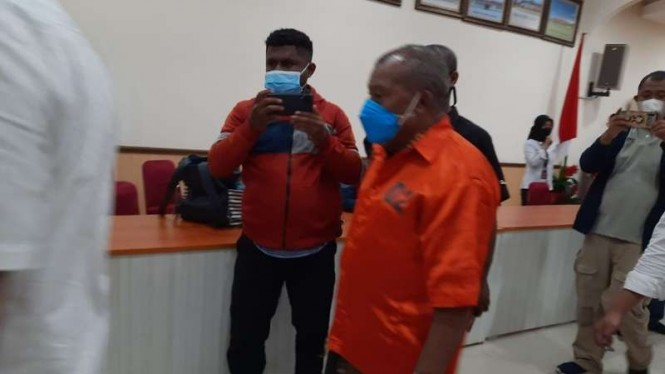 Mantan Bupati Mambramo Raya, Dorinus Dasinapa jadi tersangka kasus dana COVID-19