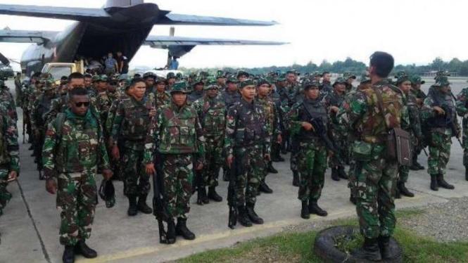 VIVA Militer: Satgas Pamrahwan Yonif Raider Khusus 751/Vira Jaya Sakti