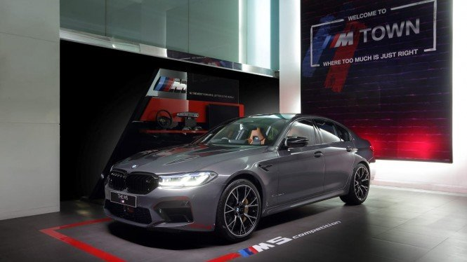 BMW M5 Competition. Foto: BMW Indonesia.