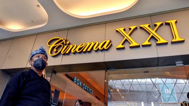 Pembukaan kembali bioskop di kota Bandung