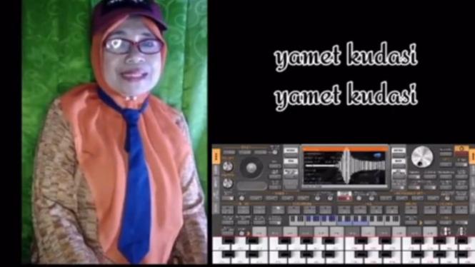 Viral Lagu Yamet Kudasi, Ternyata Penyanyinya Wanita (Instagram/viralsekali)