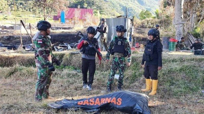 Jenazah suster Gabriela Maelani diduga korban KKB Papua