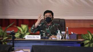 VIVA Militer: Panglima TNI pimpin rapat penanganan COVID-19 di Jambi
