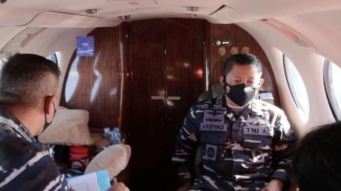 VIVA Militer: Pangkoarmada I lakukan patroli udara di atas Laut Natuna