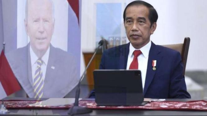 Presiden Jokowi menghadiri pertemuan Major Economies Forum on Energy and Climate