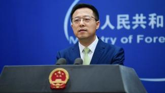 Juru Bicara Menteri Luar Negeri Pemerintah China, Zhao Lijian.