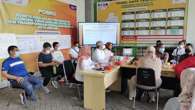 Wali Kota Bekasi, Rahmat Effendi mengumpulkan para HRD Perusahaan Kota Bekasi
