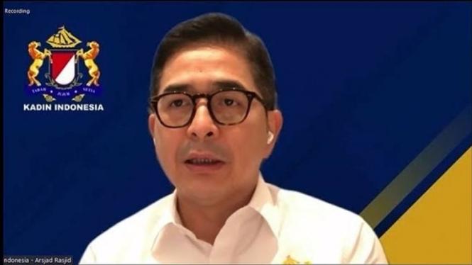 Ketua Umum Kadin Indonesia, Arsjad Rasjid.