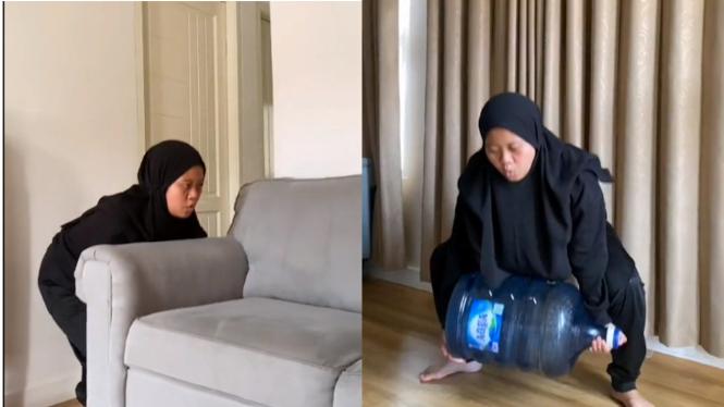 TikTok Musdalifah Basri.