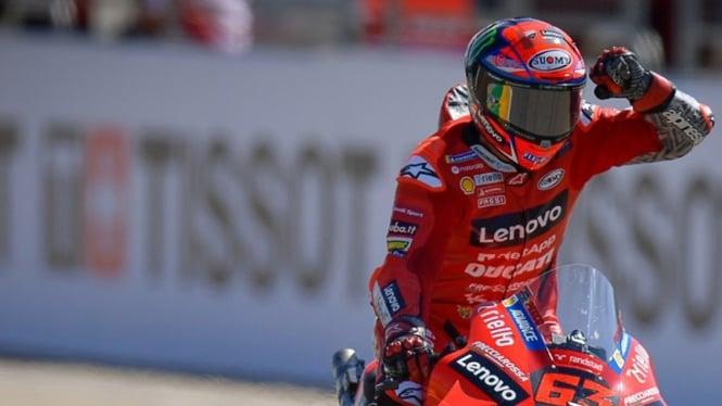 Pembalap Ducati, Francesco Bagnaia