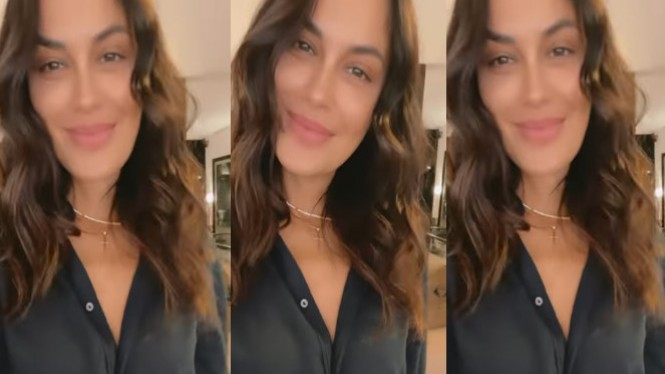 Viral Sophia Latjuba mengenakan kalung salib (Instagram/sophia_latjuba88)