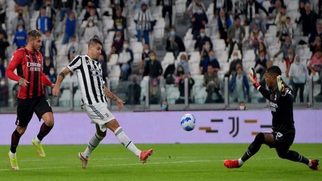 Duel Juventus vs AC Milan