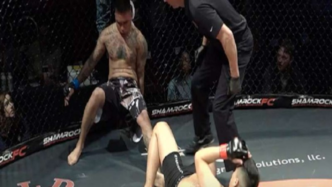 Hasi langka dalam pertandingan MMA