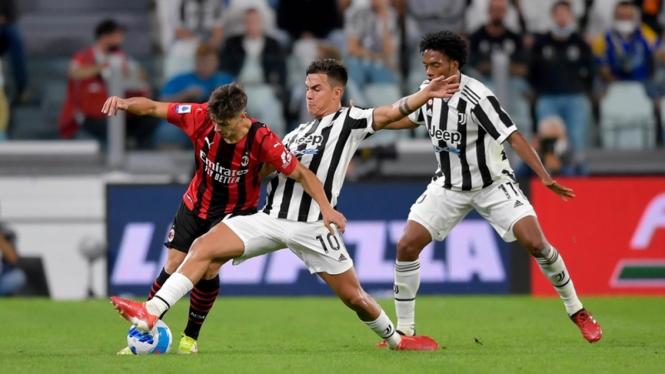 Pertandingan Juventus vs AC Milan