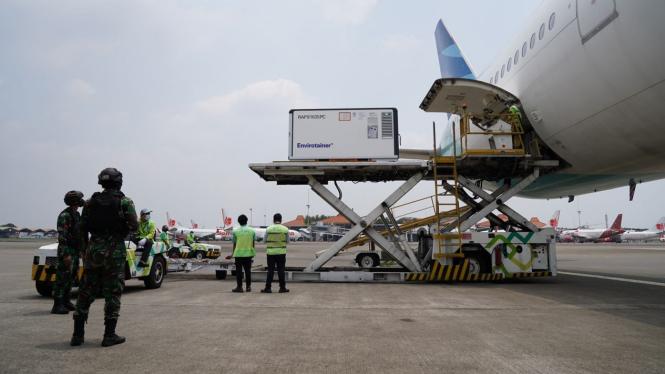 Indonesia kembali menerima kedatangan vaksin Sinovac