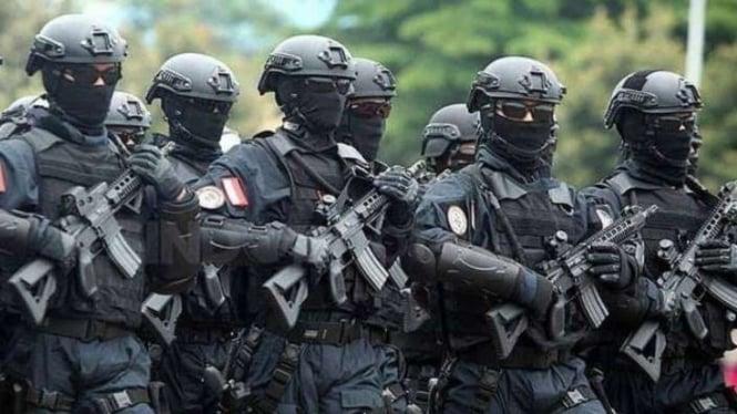 VIVA Militer: Pasukan Detasemen Jalamangkara (Denjaka) TNI Angkatan Laut