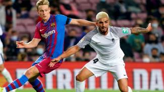 Pertandingan Barcelona vs Granada.
