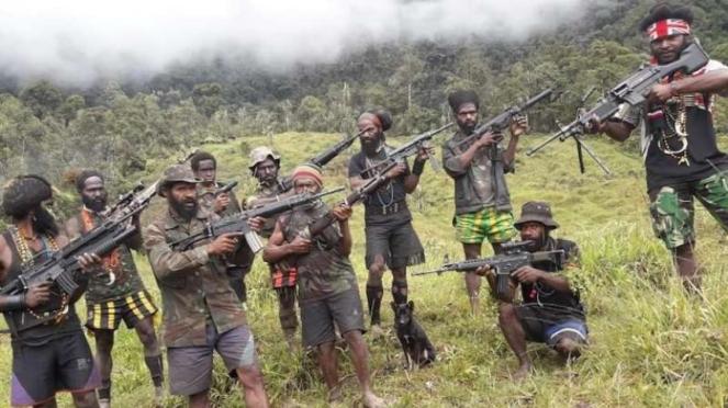 VIVA Militer: Kelompok teroris Organisasi Papua Merdeka (OPM)