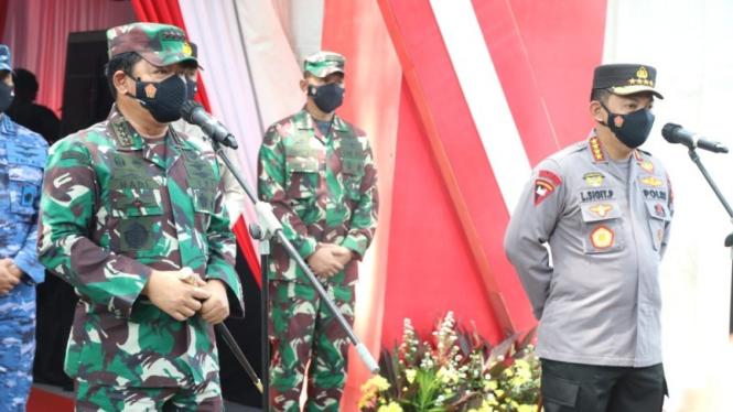 Kapolri, Jenderal Pol Listyo Sigit Prabowo.