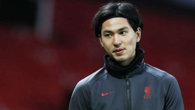 Gelandang Liverpool, Takumi Minamino.