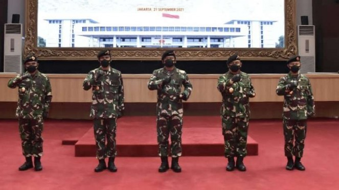 VIVA Militer: Panglima TNI pimpin upacara Sertijab para petinggi TNI