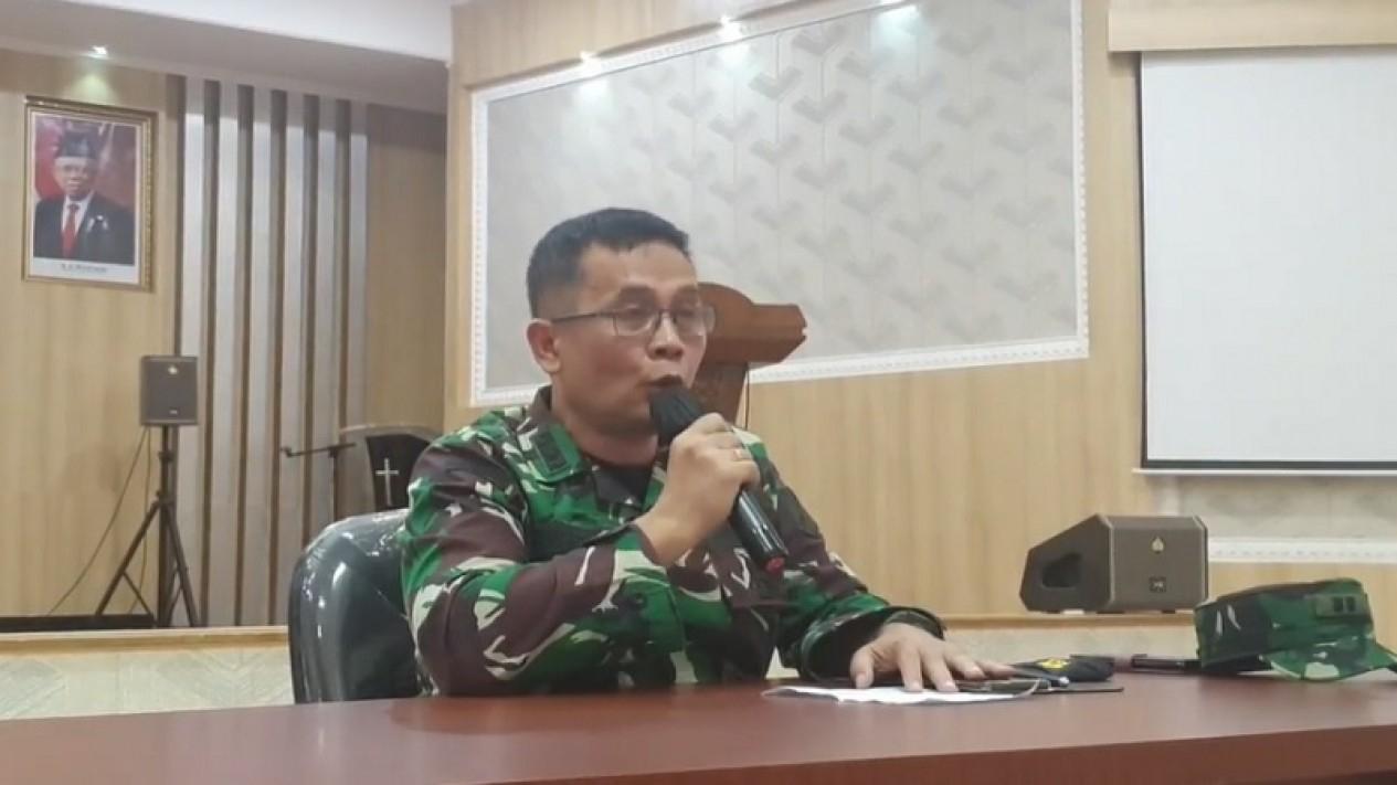 Kapendam XIII/Merdeka Letkol Inf Jhonson Sitorus
