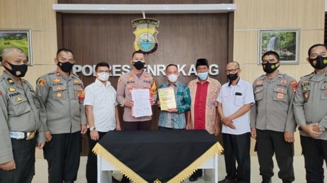 Kapolres Enrekang AKBP Andi Sinjaya dapat hibah tanah dari masyarakat adat