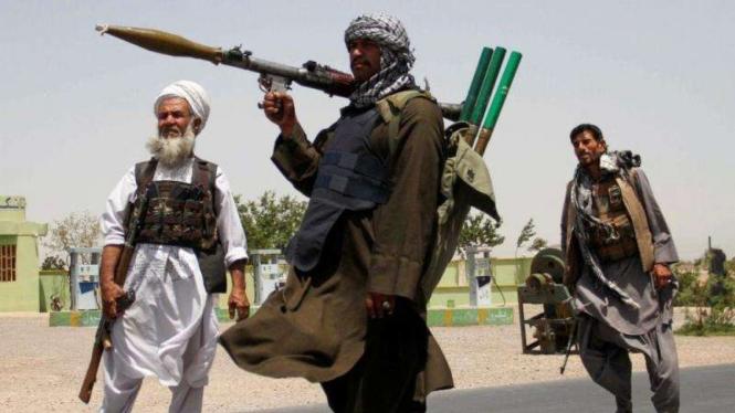 VIVA Militer: Pejuang Taliban Afghanistan
