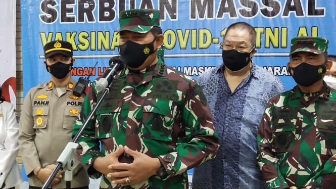 VIVA Militer: KSAL Laksamana TNI Yudo Margono di Mangga Dua Square