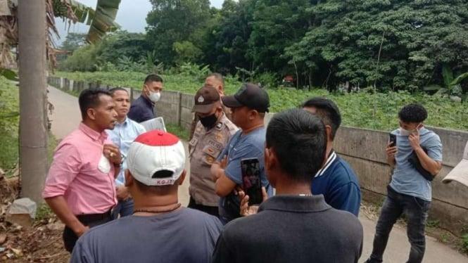 Pihak Sentul City kembali terlibat kericuhan dengan warga yang mengklaim lahan
